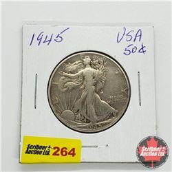 USA Half Dollar 1945