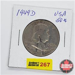 USA Half Dollar 1949D