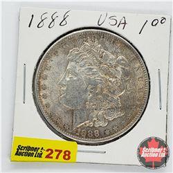 USA Morgan Dollar 1888