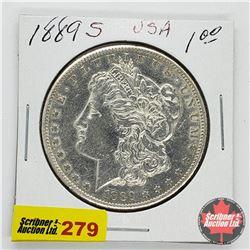 USA Morgan Dollar 1889S