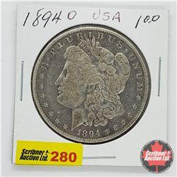 USA Morgan Dollar 1894O