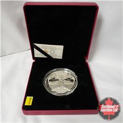 """RCM 2017 $100 Fine Silver Coin """"The 150th Anniversary of Canadian Confederation"""" (Note: Plastic Caps"""