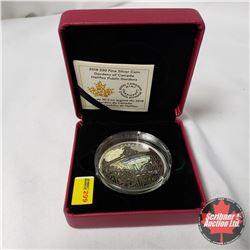 "RCM 2018 $30 Fine Silver Coin ""Gardens of Canada Halifax Public Gardens"""