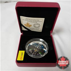 "RCM 2018 $30 Fine Silver Coin ""The Queen's Gate: Formal Entrance to Parliament Hill"""