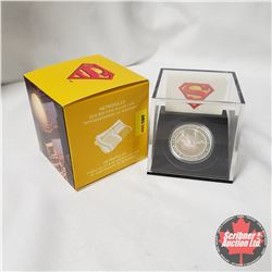 "RCM 2013 $20 Fine Silver Coin ""75th Anniversary of Superman"" ""Metropolis"""