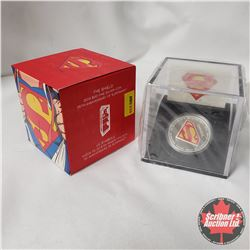 "RCM 2013 $20 Fine Silver Coin ""75th Anniversary of Superman"" ""The Shield"""