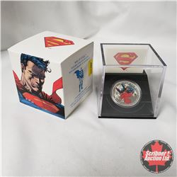 "RCM 2013 $20 Fine Silver Coin ""75th Anniversary of Superman"" ""Man of Steel"""