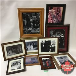 Framed Photograph Prints (9)