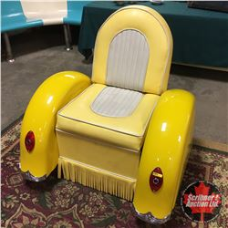 Custom Made Motorcycle Themed Chair - COOL!