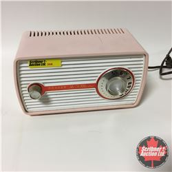 Beaver Hi-Fi Master Vintage Radio - Pastel Pink