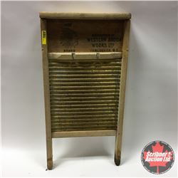 """CHOICE of 4 Washboards: Chief Brand - Tin 12"""" x 24"""""""