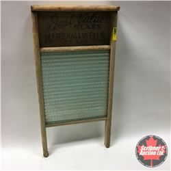 """CHOICE of 4 Washboards: Best Value - Glass 12"""" x 24"""""""