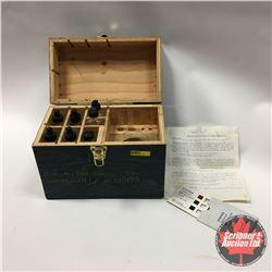 "Field Type Boiler Water Test Kit ""C.C. Snowdon Ltd. Calgary, AB"""