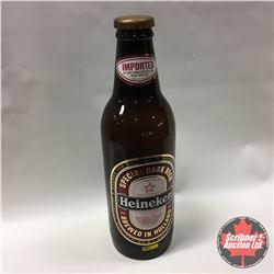 """25"""" Plastic Heineken Bottle """"Special Dark Beer"""""""