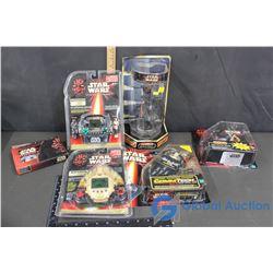 (6) NIB Star Wars Collectibles