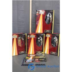 NIB Queen Amidala Collector Figures (BID PRICE IS TIMES 4)