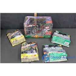 (5) NIB G.I. Joe Collector Toys