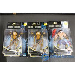 (3) NIB Evil Batman Collectible Figures