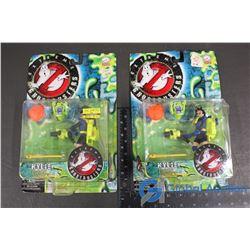 (2) NIB Ghostbusters Kylie Figures