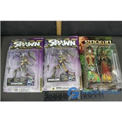 (3) NIB Spawn Collectible Figures (BID PRICE TIMES 3)