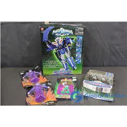 (5) NIB Assorted Power Ranger Toys