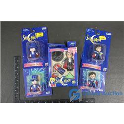 (5) NIB Sailor Moon Collectibles