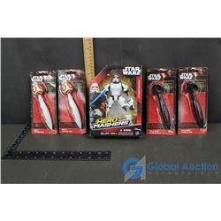 Star Wars Storm Trooper & (4) Clicker Pens