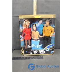 NIB Star Trek Barbie & Ken 30th Anniversary Collector Edition Gift Set