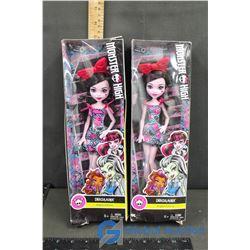 (2) NIB Monster High Dolls - Draculaura