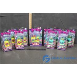 (10) NIB Zoobles Spring to Life Seagonia Collector Toys