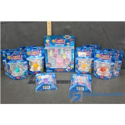(11) NIB Crystal Surprise Lucky Sparkling Pets