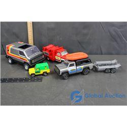 Assorted Tonka Toy Trucks & Trailers