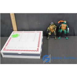 TMNT Figures & Sewer/Pizza Play Center