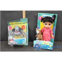 (2) Monsters Inc Toys