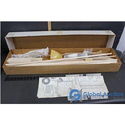 Kavalier 56 Inch Balsa Wood Model Plane Kit