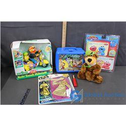 Sesame Street, Snow White Lunch Kit, & Yogi Bear