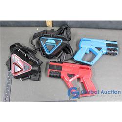 Two Player Laser Tag w/ Guns & Belts