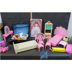 Doll House; Furniture; Barbie & Barbie Accessories