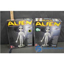 (2) Unopened Alien Model Kits