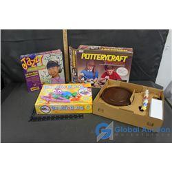 Jazzy Jewelry, Doodle Doug & Pottery Craft Sets