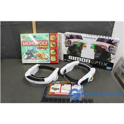 Monopoly Junior & Simon Optix
