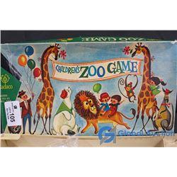 Vintage Children's Zoo Game