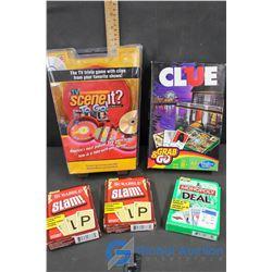 Roadtrip Games Scene it?, Monopoly, Scrabble & Clue