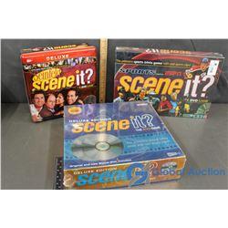 3 Assorted Scene it Games