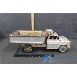 Old Metal Dump Truck