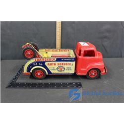 Wyandotte Plastic & Metal Tow Truck