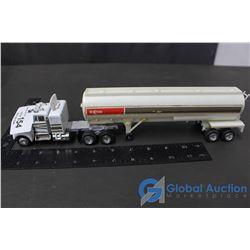Kenworth Model Semi & Plastic Exxon Trailer
