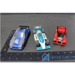 (3) Tonka Cars