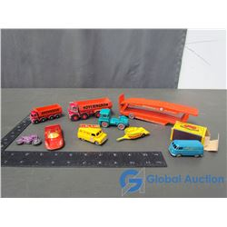 Assorted Matchbox by Lesney Trucks & Cars