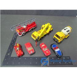 Assorted Matchbox Trucks & Cars